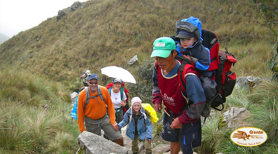 On The Paths Of The Incas